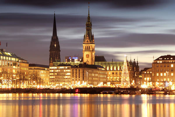 Photograph - Hamburg Christmas by Marc Huebner