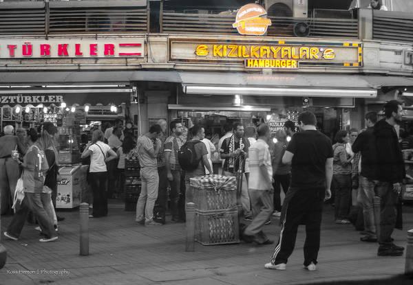 Photograph - Hamburger Across The World by Ross Henton