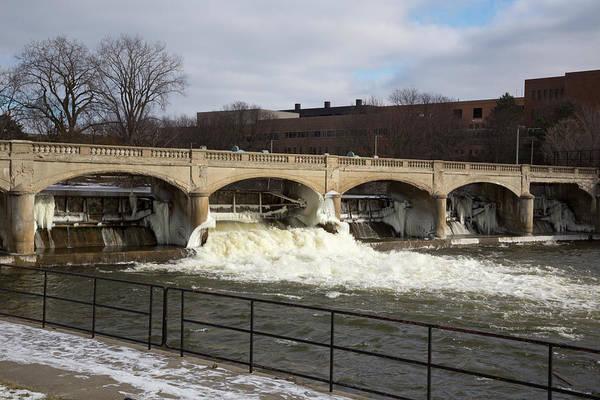 Contamination Photograph - Hamilton Dam by Jim West
