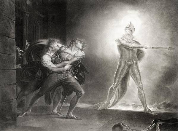 Wall Art - Photograph - Hamlet, Act I, Scene Iv, By William Shakespeare 1564-1616 Engraved By Robert Thew 1758-1802 Litho by Henry Fuseli