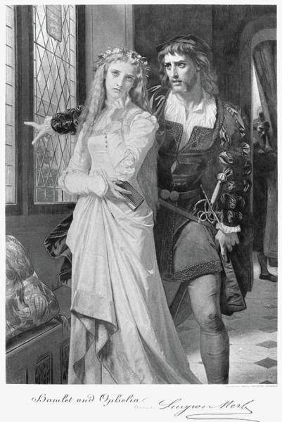 Ophelia Painting - Hamlet And Ophelia by Granger