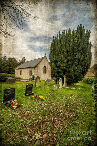 St Michaels Church Photograph - Hamlet Church by Adrian Evans