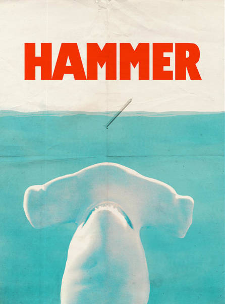 Movie Drawing - Hammer by Eric Fan