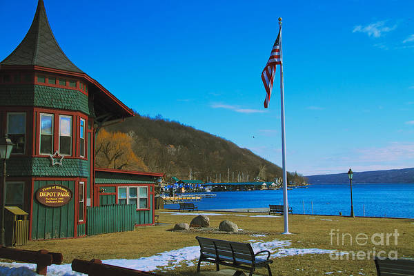 Photograph - Hammondsport by William Norton