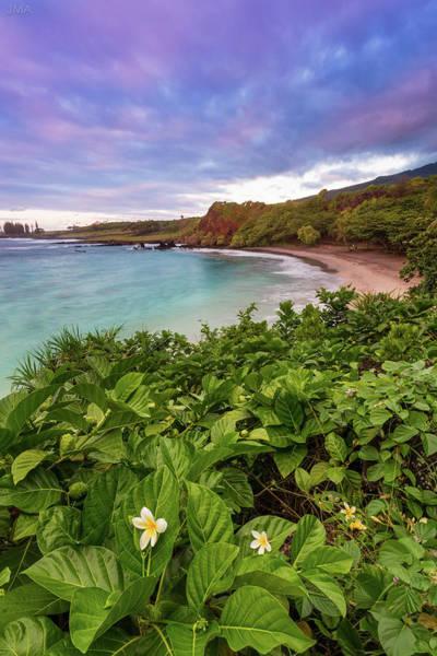 Maui Photograph - Hamoa Beach Sunrise by J. Andruckow