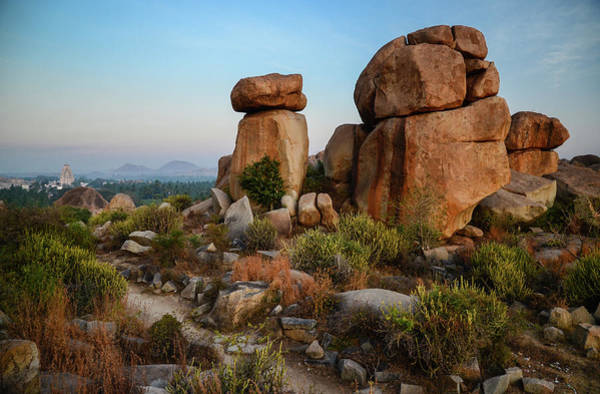 Karnataka Photograph - Hampi, Karnatka, India At Sunrise by Matthew P. Wicks
