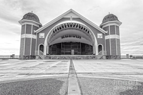 Photograph - Hampton Beach Bandstand Stage by Edward Fielding