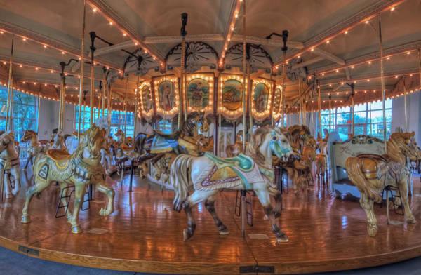 Photograph - Hampton Carousel by Jerry Gammon