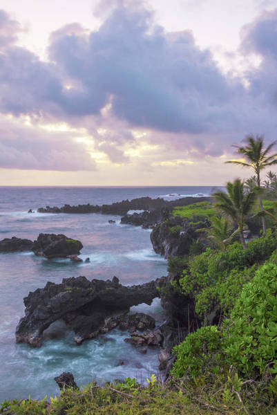 Wall Art - Photograph - Hana Arches Sunrise 3 - Maui Hawaii by Brian Harig