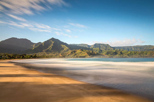 Photograph - Hanalei Bay Peaceful Morning by Pierre Leclerc Photography
