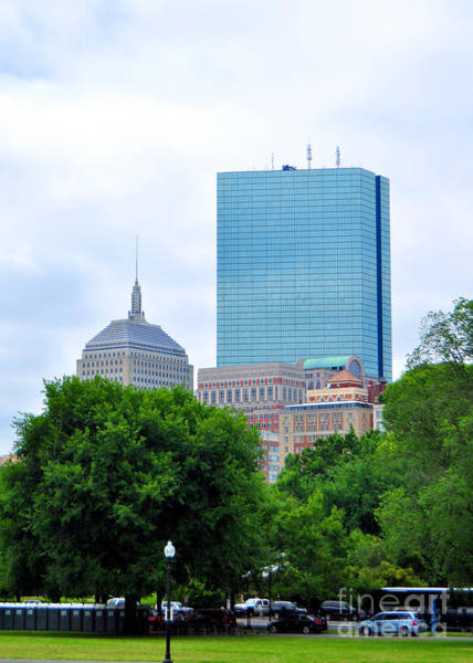 Photograph - Hancock Tower Boston Ma by Staci Bigelow
