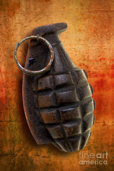 Photograph - Hand Grenade by Edward Fielding