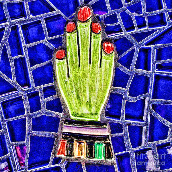 Mixed Media - Hand Me Down By Diana Sainz by Diana Raquel Sainz
