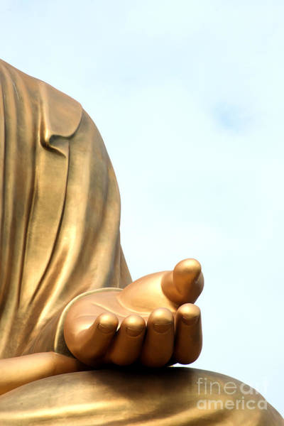 Photograph - Hand Of Buddha by Yew Kwang