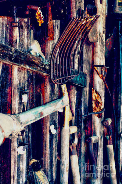 Photograph - Handles And The Pitchfork by Lesa Fine