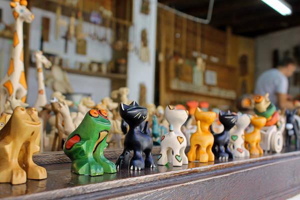 Photograph - Handmade Toys by Tony Murtagh