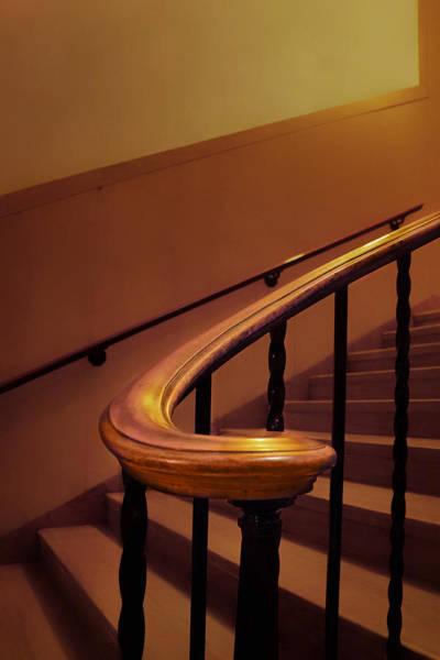 Baluster Wall Art - Photograph - Handrail - Stairs - Nebraska Capitol Building by Nikolyn McDonald