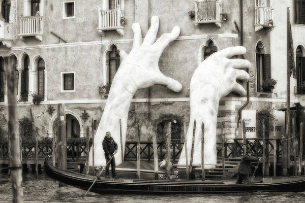 Gondola Photograph - Hands by Federico Righi