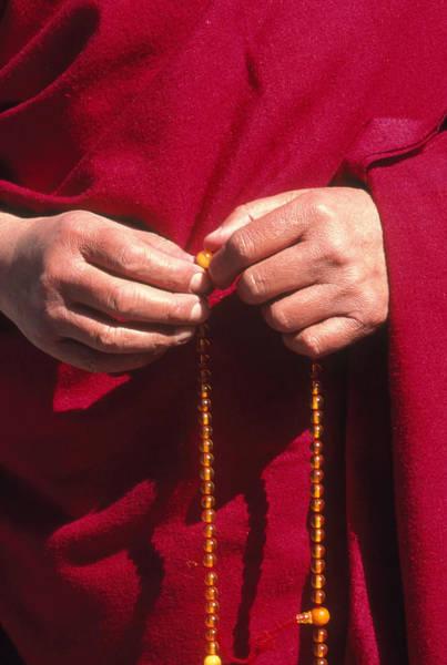 Wall Art - Photograph - Hands Of The Dalai Lama by Alison Wright
