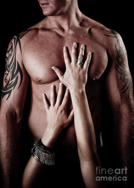 Passionate Photograph - Hands On Him by Jt PhotoDesign