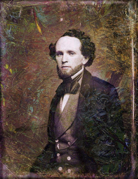 Wall Art - Painting - Handsome Fellow 3 by James W Johnson
