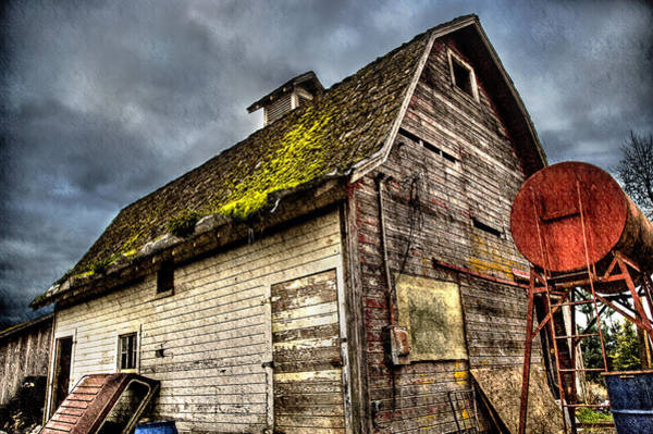 Photograph - Handy Barn by Arthur Fix