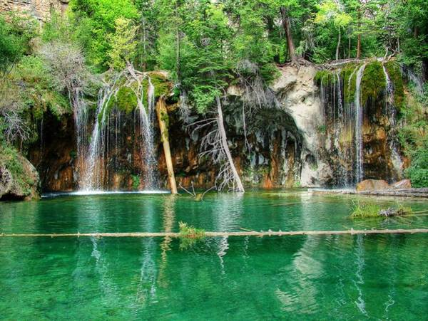 Colorado Springs Photograph - Hanging Lake 1 by Ken Smith