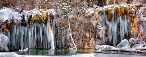Photograph - Hanging Lake by OLena Art - Lena Owens