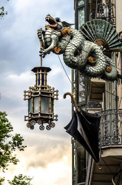 Photograph - Hanging Lantern by Sotiris Filippou