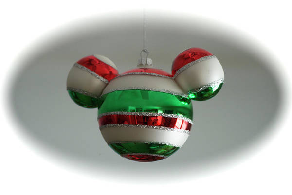 Wall Art - Photograph - Hanging Mickey Ears by Thomas Woolworth
