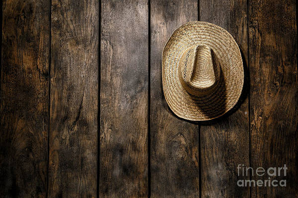 Farmer Photograph - Hanging My Hat by Olivier Le Queinec