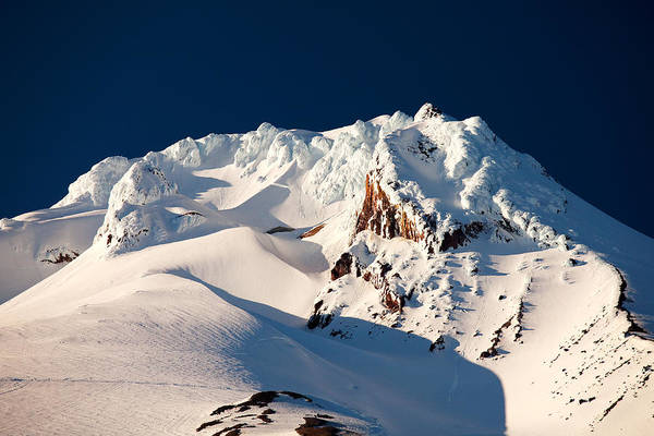 Mount Hood Photograph - Hanging On Hood by Darren  White