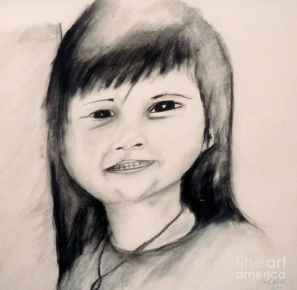 Drawing - Hannah by Jon Kittleson
