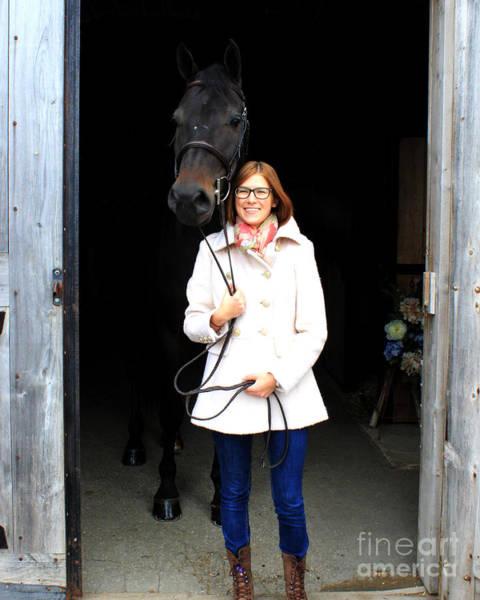 Photograph - Hannah Sunday 1 by Life With Horses