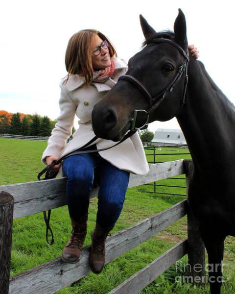 Photograph - Hannah Sunday 12 by Life With Horses