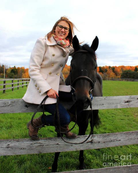Photograph - Hannah Sunday 13 by Life With Horses