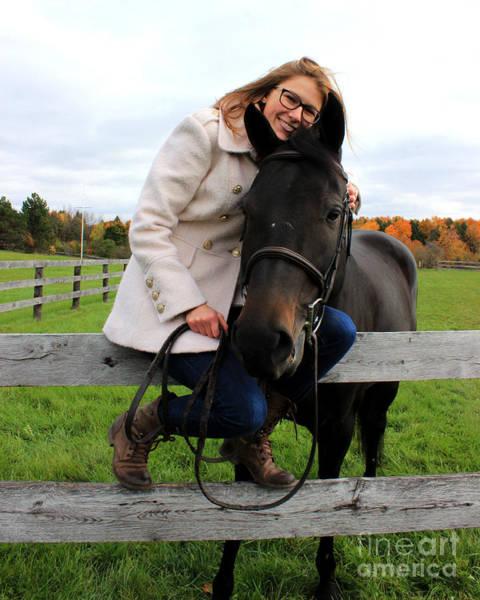 Photograph - Hannah Sunday 14 by Life With Horses
