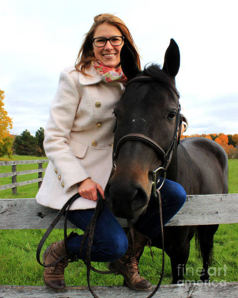 Photograph - Hannah Sunday 15 by Life With Horses
