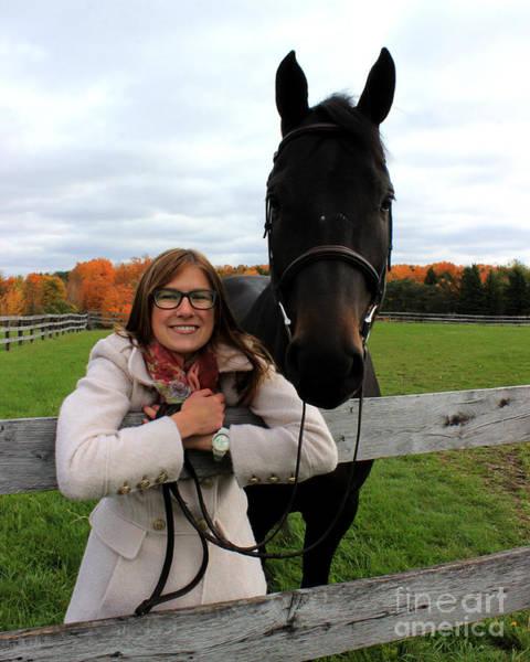 Photograph - Hannah Sunday 17 by Life With Horses