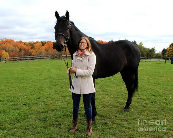 Photograph - Hannah Sunday 18 by Life With Horses
