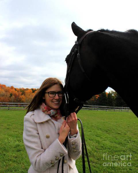 Photograph - Hannah Sunday 19 by Life With Horses