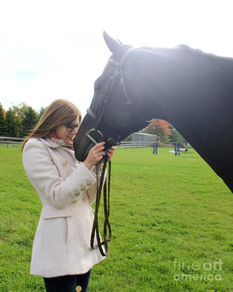 Photograph - Hannah Sunday 20 by Life With Horses