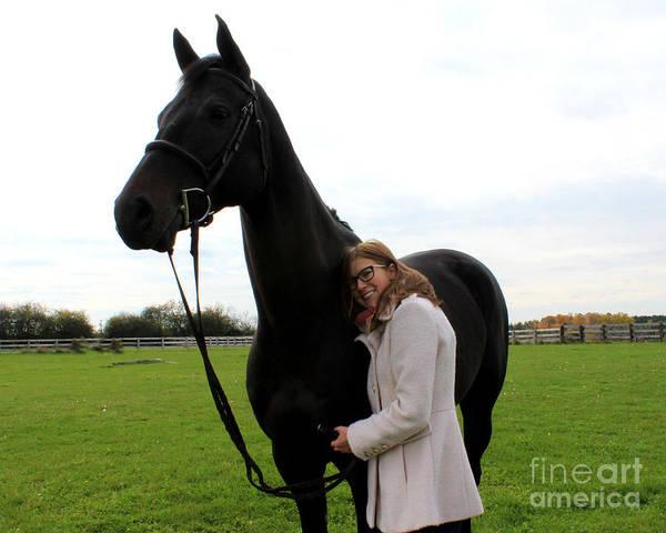 Photograph - Hannah Sunday 21 by Life With Horses
