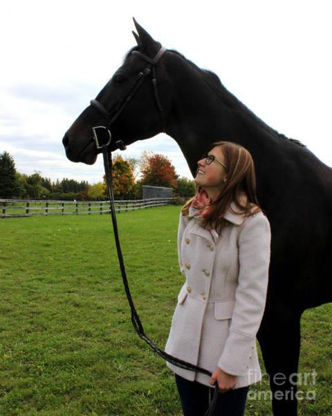Photograph - Hannah Sunday 23 by Life With Horses