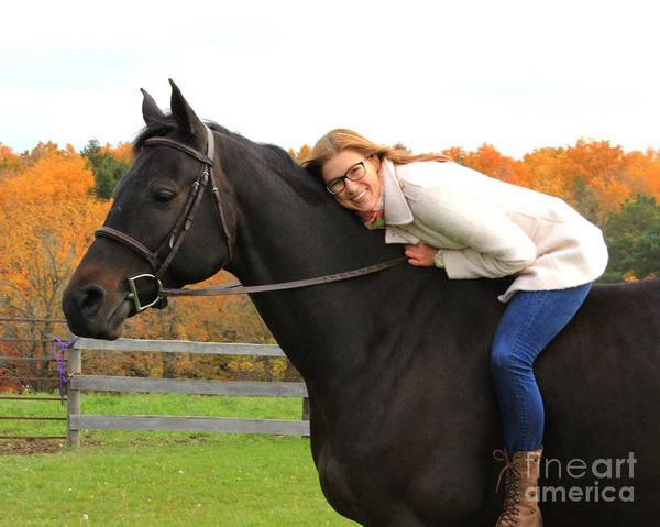 Photograph - Hannah Sunday 26 by Life With Horses