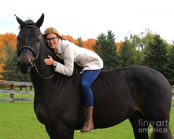 Photograph - Hannah Sunday 27 by Life With Horses