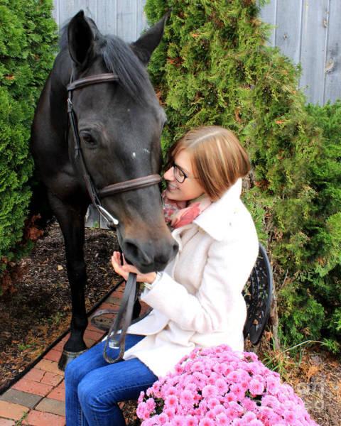 Photograph - Hannah Sunday 6 by Life With Horses