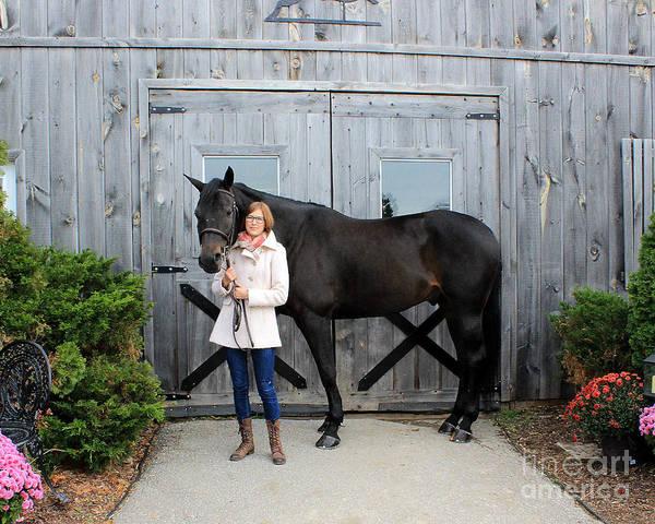 Photograph - Hannah Sunday 8 by Life With Horses