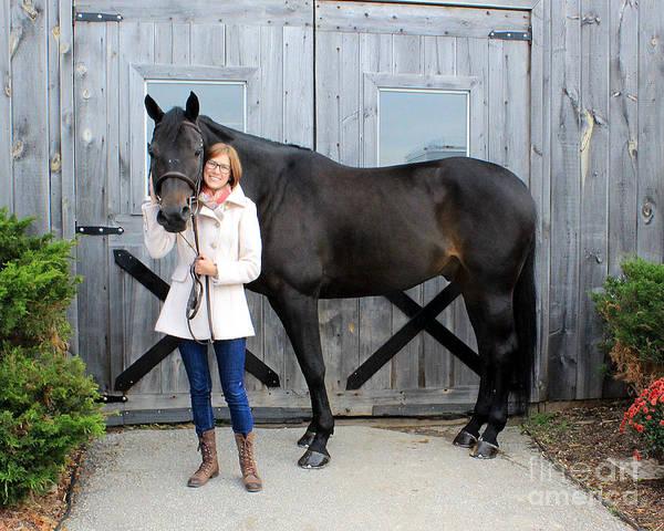 Photograph - Hannah Sunday 9 by Life With Horses
