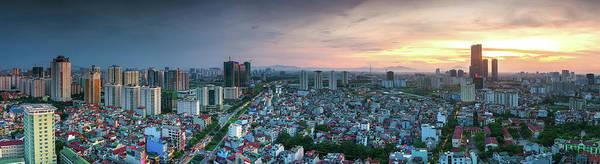 Photograph - Hanoi Panorama by Vlg
